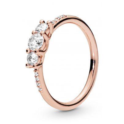 Pandora 186242CZ Rose Ladies´ Ring Sparkling Elegance