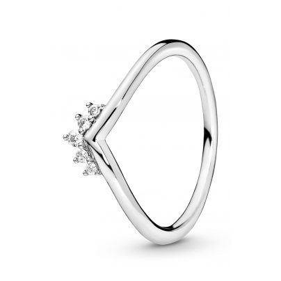 Pandora 198282CZ Women's Ring Tiara Wishbone