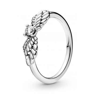 Pandora 198500C01 Ladies' Ring Sparkling Angel Wings