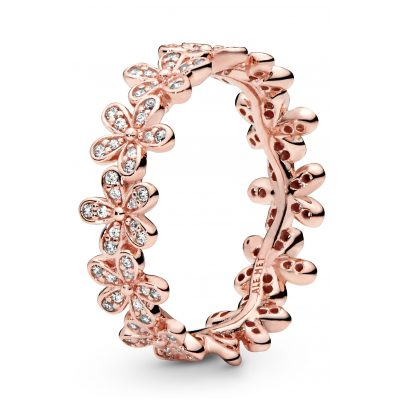 Pandora 180934CZ Rose Ladies' Ring Daisies