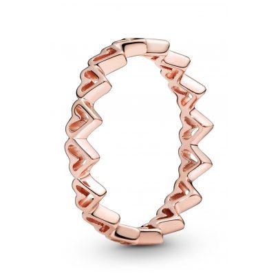 Pandora 188696C00 Rose Damen-Ring Freehand Herzen