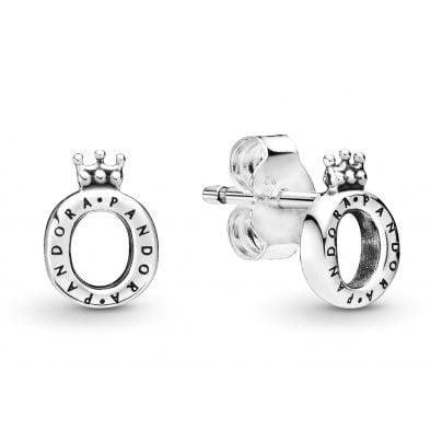 Pandora 298295 Damen-Ohrringe Polished Crown O 5700302817621