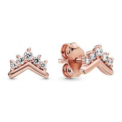 Pandora 288274CZ Rose Ladies´ Ear Studs Tiara Wishbone 5700302818130