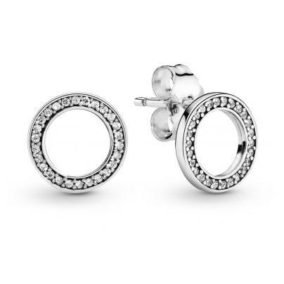 Pandora 290585CZ Ladies' Earrings Circles 5700302379716