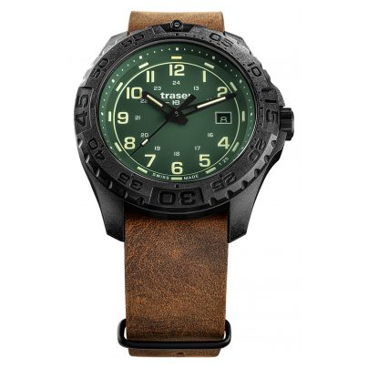 traser H3 109038 Herrenuhr P96 OdP Evolution Green 4260315533938