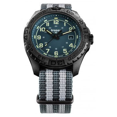 traser H3 109041 Herren-Armbanduhr P96 OdP Evolution Petrol 4260315533969