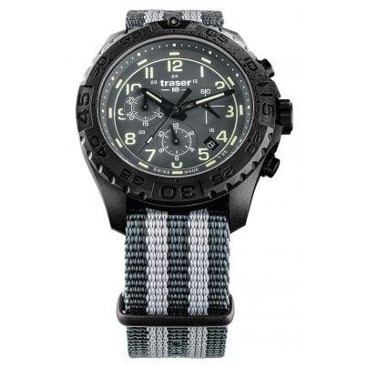 traser H3 109046 Herrenuhr P96 OdP Evolution Chrono Grey 4260315534003