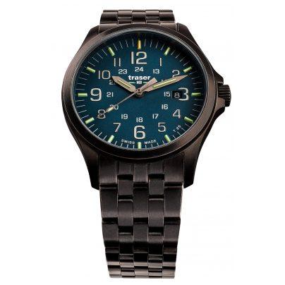traser H3 108739 Men's Watch P67 Officer Pro Gun Blue 7630027704174