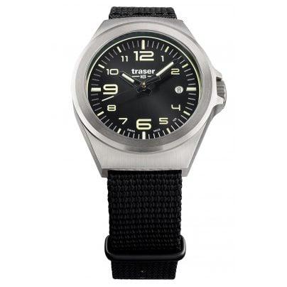 traser H3 108637 Wristwatch in Unisex Size P59 Essential S Black 7630027704099