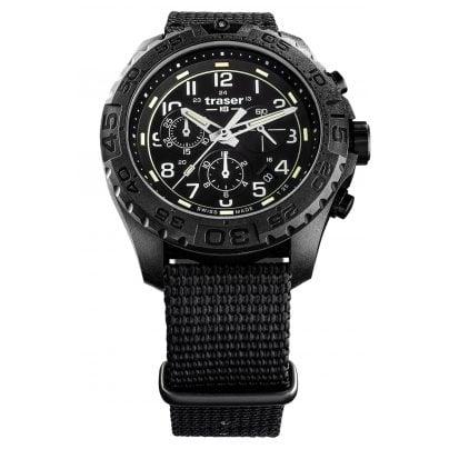 traser H3 108680 Men's Watch P96 OdP Evolution Chrono Black 7630027704150