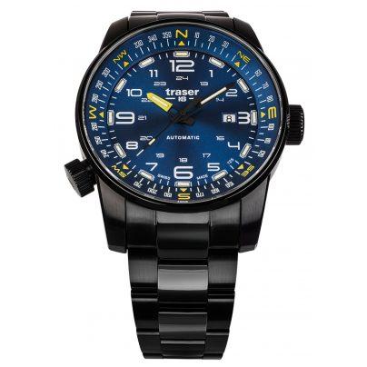 traser H3 109523 Herrenuhr Automatik P68 Pathfinder Blau 7630027704730