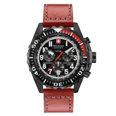 Swiss Military Hanowa 06-4304.13.007 Herrenuhr Touchdown Chrono 7612657093552