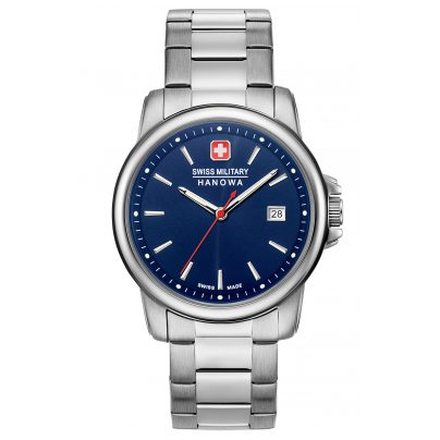 Swiss Military Hanowa 06-5230.7.04.003 Herrenuhr Swiss Recruit II Edelstahl/Blau 7620958000292