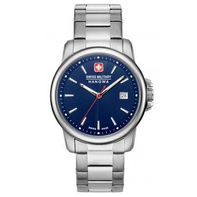 Swiss Military Hanowa 06-5230.7.04.003 Men's Watch Swiss Recruit II Stainless Steel / Blue 7620958000292