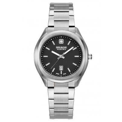 Swiss Military Hanowa 06-7339.04.007 Ladies' Watch Stainless Steel Alpina silver / black 7620958001299