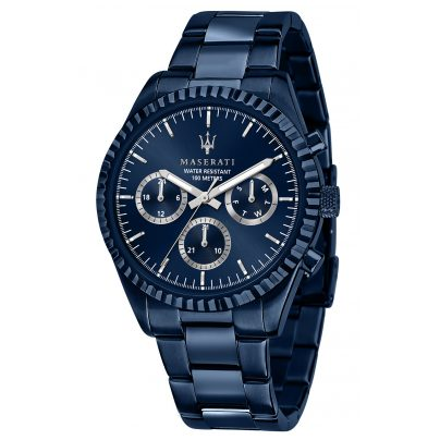 Maserati R8853100025 Men's Watch Multifunction Competizione Blue 8033288903598