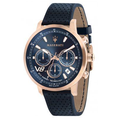 Maserati R8871134003 Men's Solar Watch Chronograph GT Dark Blue 8033288820208