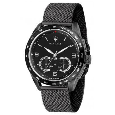 Maserati R8873612031 Herren-Armbanduhr Chronograph Traguardo Schwarz 8033288837374
