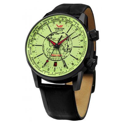 Vostok Europe 5604240 World Timer Automatikuhr 4260157445215