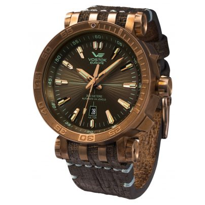 Vostok Europe NH35A-575O285 Automatic Watch Energia Rocket Bronze 4260157447073