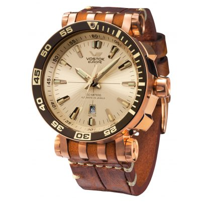 Vostok Europe NH35A-575B281 Mens Automatic Watch Energia Rocket 4260157447035