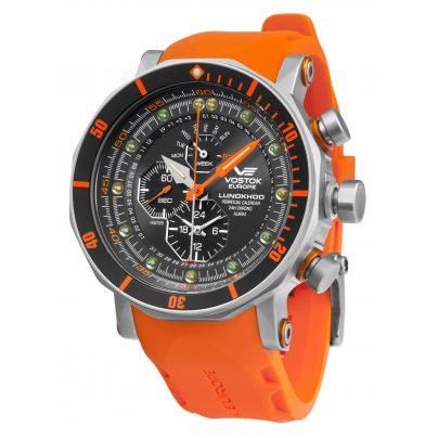 Vostok Europe YM86-620A506 Herrenuhr Chronograph Lunokhod 2 4260157447400