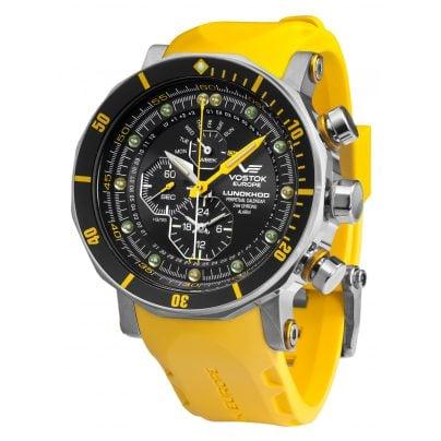 Vostok Europe YM86-620A505 Herren-Alarm-Chronograph Lunokhod 2 4260157447394