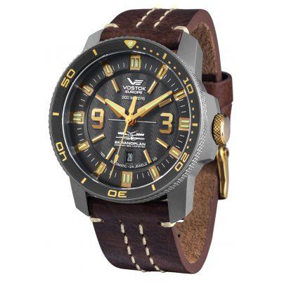 Vostok Europe NH35A-546H515 Titanium Mens Automatic Watch Ekranoplan 4260157447479