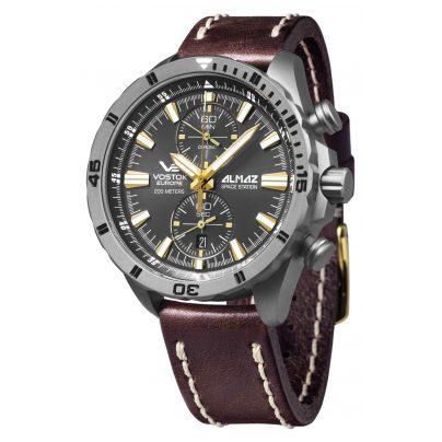 Vostok Europe 320H521 Herrenuhr Chronograph Almaz Titan 4260157447950