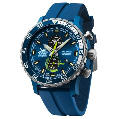 Vostok Europe YM8J-597E546 Men's Alarm Chronograph Expedition Everest Underground 4260157448025