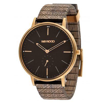 WeWood WW63004 Holz-Armbanduhr Albacore Rose Gold Black Choco 0725350508616