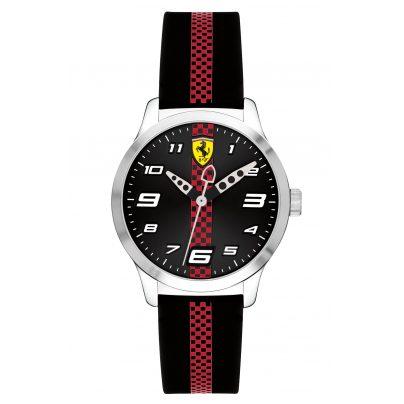 Scuderia Ferrari 0860002 Kinderuhr Pitlane Schwarz 7613272267014