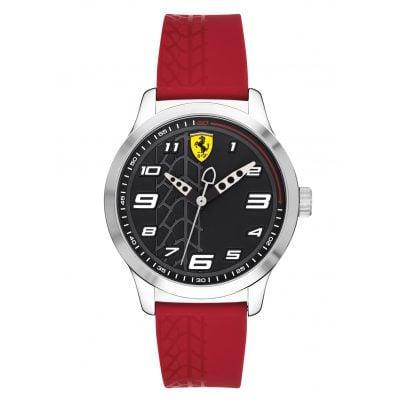 Scuderia Ferrari 0840019 Jugenduhr Pitlane 7613272266970