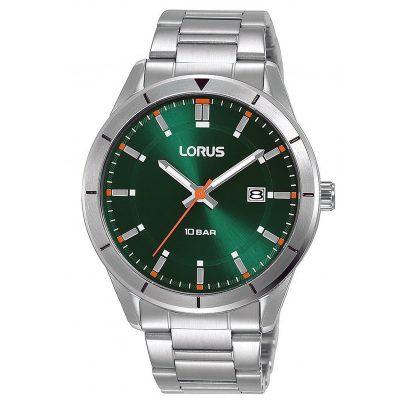 Lorus RH901MX9 Herren-Armbanduhr Grün 10 bar 4894138346132