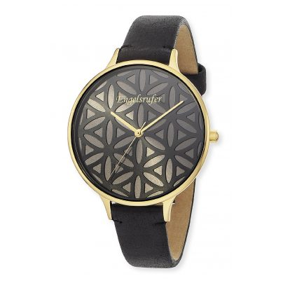 Engelsrufer ERWA-LIFL-LBK1-LG Ladies' Watch Flower of Life Ø 38 mm 4260562164053