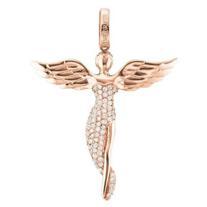 Engelsrufer ERP-ANGEL-SR Pendant Angel Small Rose 4260463194852