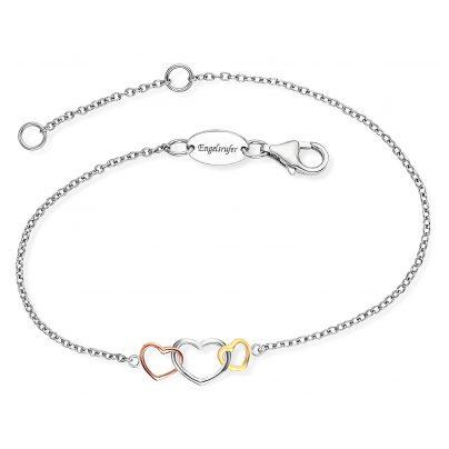 Engelsrufer ERB-WITHLOVE-03 Silber Damen-Armband 4260645869929