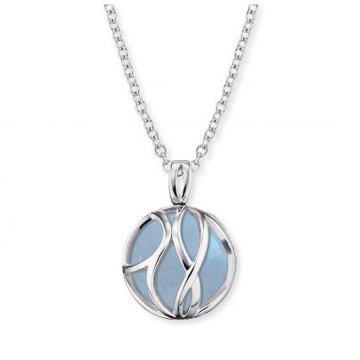 Engelsrufer ERN-LILPARADISE-AQ Ladies´ Necklace with Pendant Paradise Aquamarine 4260562165234
