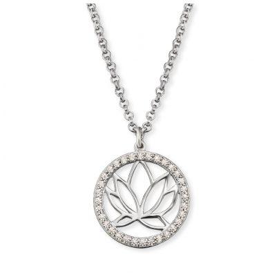 Engelsrufer ERN-LOTUS-ZI Silber Damen-Halskette Lotus 4260562160475