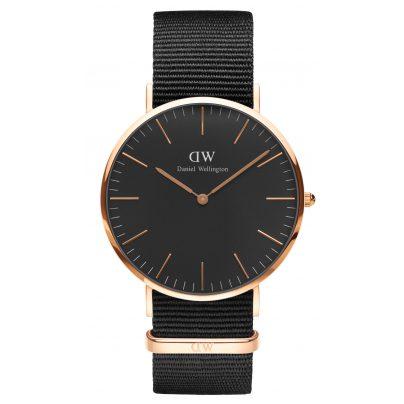 Daniel Wellington DW00100148 Herrenuhr Cornwall Rose Gold 40 mm 7350068244773