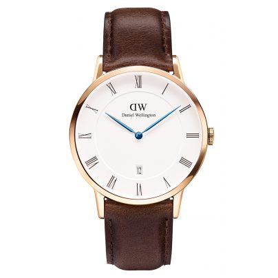 Daniel Wellington DW00100086 Dapper Bristol Rose Gold Armbanduhr 38 mm 7350068242939