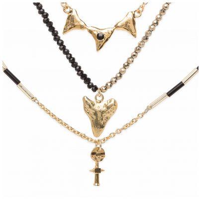 Hipanema H19REBEBLK Ladies Necklace Rebella Black 3700839109185