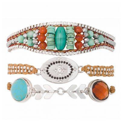 Hipanema H19MKYLIZU Damen-Armband Kylie-Link 3700839110006