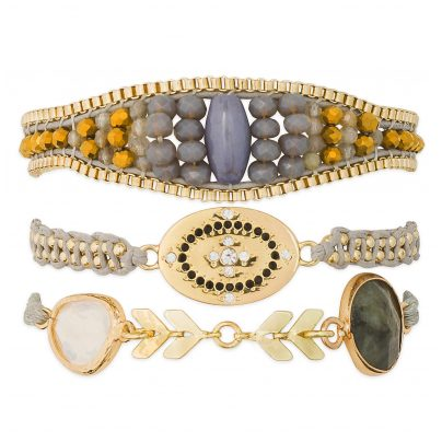 Hipanema H19MTAYLWH Damen-Armband Taylor-Link 3700839110037