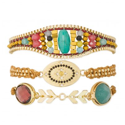 Hipanema H19MZELIRE Armband für Frauen Zelia-Link 3700839110068