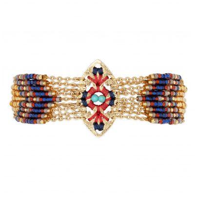 Hipanema H19MBALTGO Damen-Armband Baltik Goldfarben 3700839110389