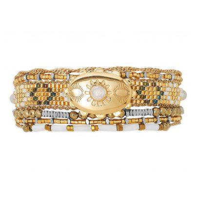 Hipanema H19MELDOGO Ladies Bracelet Eldorado Gold Tone 3700839109642