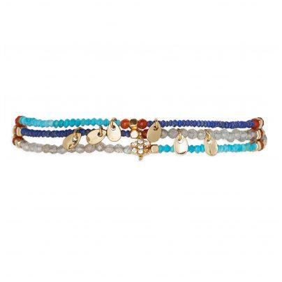 Hipanema H19PARUNA Damen-Armband Parure Navy 3700839109833