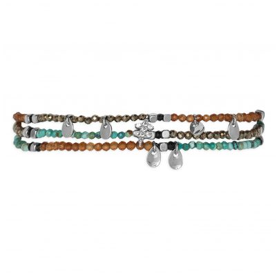 Hipanema H19PARUTU Damen-Armband Parure Turquoise 3700839109826