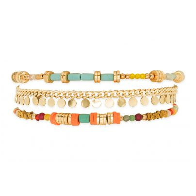Hipanema E20QUEEMUL Damen-Armband Queeny Multicolor 3700839141031